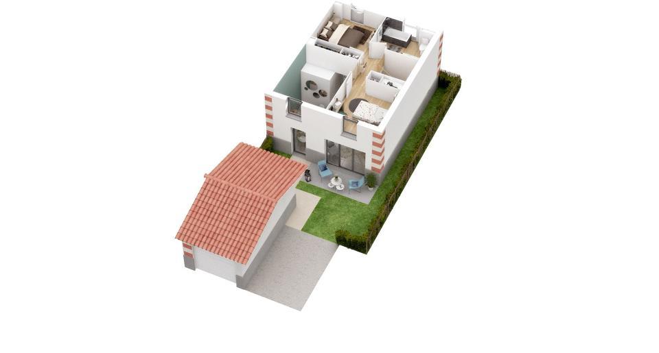 Programme immobilier neuf BASSIN V-O 3