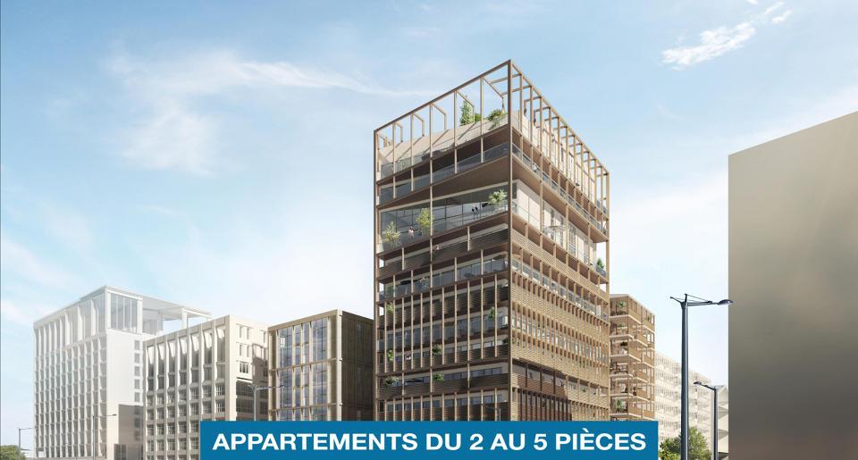 Programme immobilier neuf L'AUTRE RIVE - Appartements Neufs