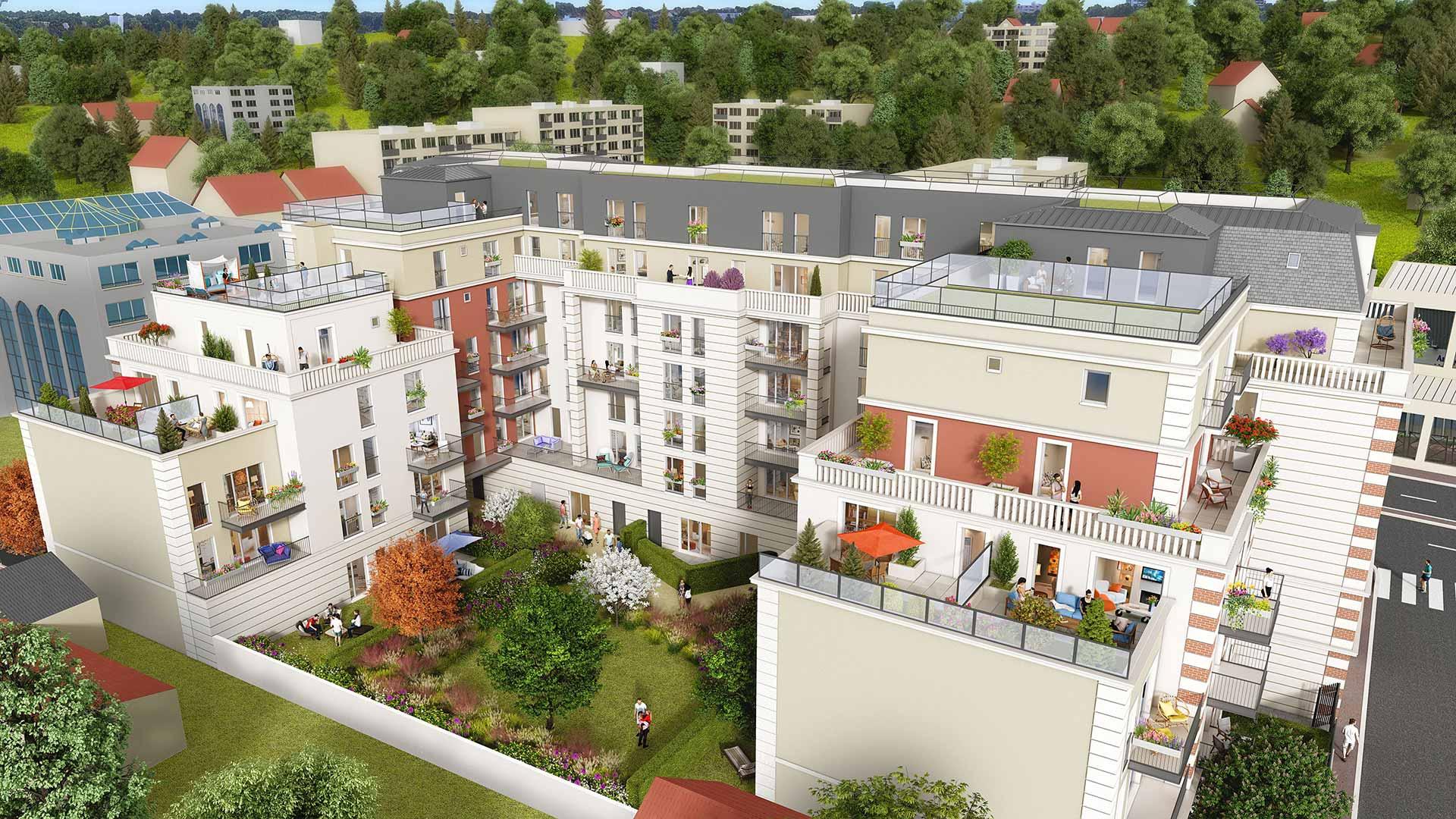 Programme immobilier neuf Coeur Livry