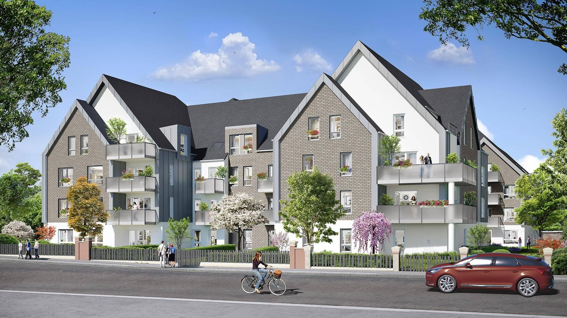 Programme immobilier neuf Villa Bihorel