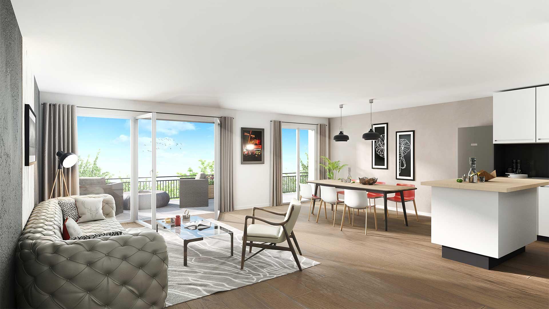 Programme immobilier neuf Domaine du Haut Vigneau