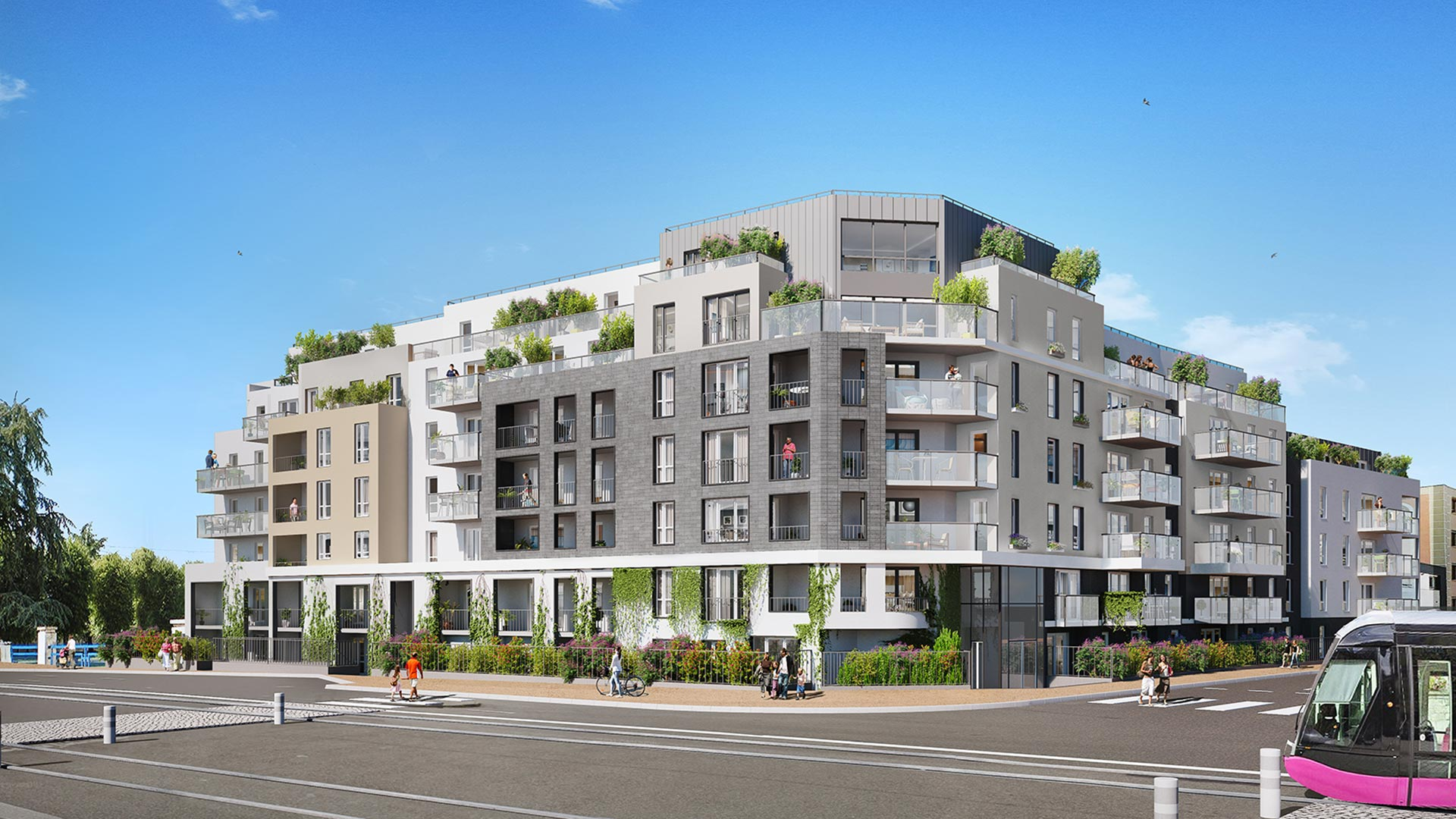 Programme immobilier neuf Canal & Sens