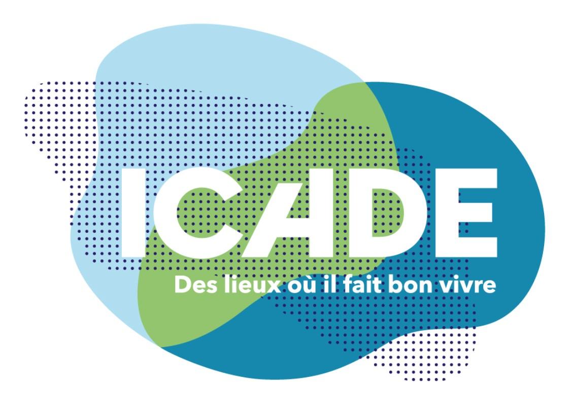 logo de l'agence ICADE PROMOTION