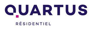 logo de l'agence QUARTUS RESIDENTIEL Ile de France